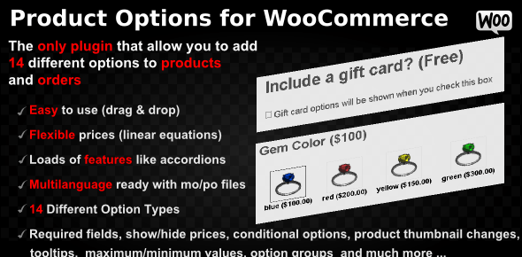 Product Options for WooCommerce v4.158 - WP Plugin
