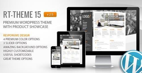 RT-Theme 15 v2.5.6.2 - Premium WordPress Theme