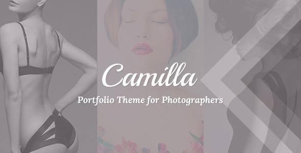 Camilla v2.2.2 - Horizontal Fullscreen Photography Theme!