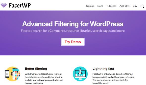 FacetWP v2.8.3 - Advanced Filtering Plugin for WordPress