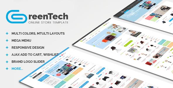 GreenTech - Shopping Responsive Opencart Theme