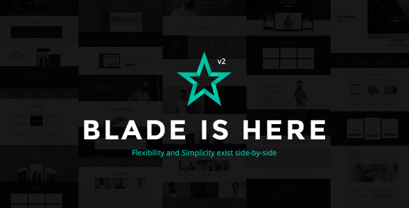 Blade v2.8.1 - Responsive Multi-Functional Theme