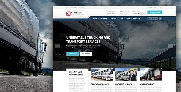 CargoPress - Logistic, Warehouse & Transport WP v1.11.1