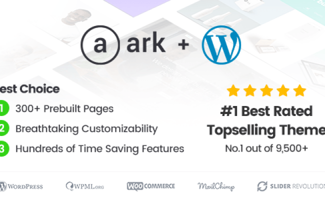 Download The Ark V1 31 0 Wordpress Theme Made For