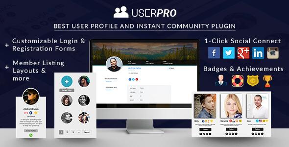 UserPro v4.9.18.2 - User Profiles with Social Login