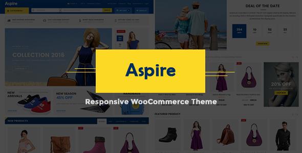 Aspire v2.2 - Electronic Store WooCommerce WordPress Theme