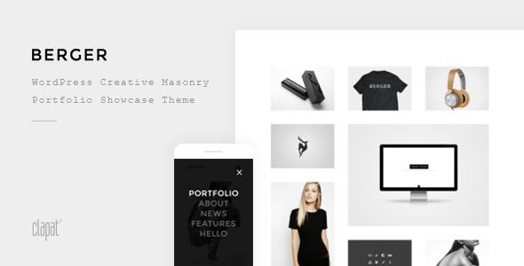 Berger - WordPress Creative Agency Portfolio Theme v2.1