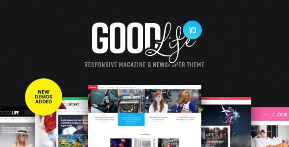 GoodLife - Responsive Magazine Theme v3.2.6