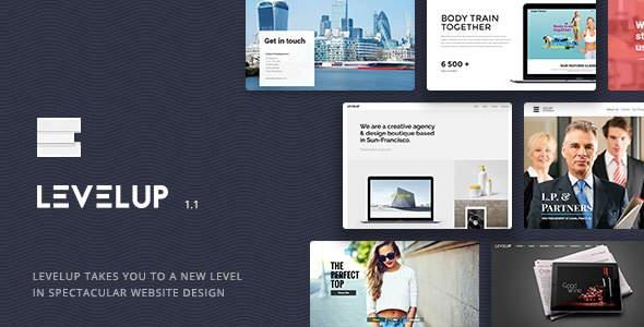 LEVELUP v1.1.34 - Responsive Creative Multipurpose WordPress Theme