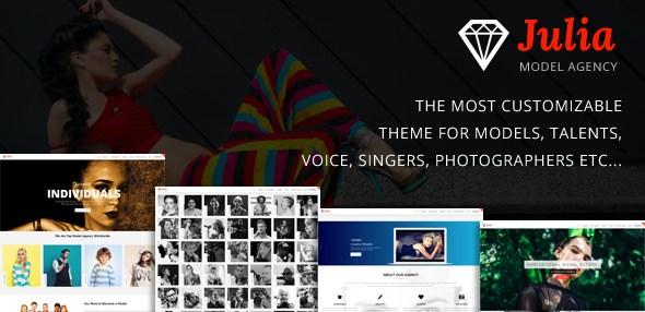 Julia v1.7.9 - Talent Management WordPress Theme
