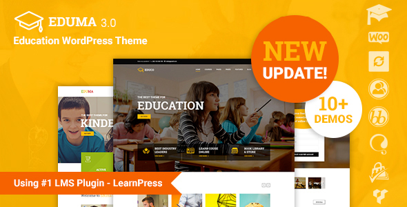 Eduma v3.2.1 - Education WordPress Theme | Education WP