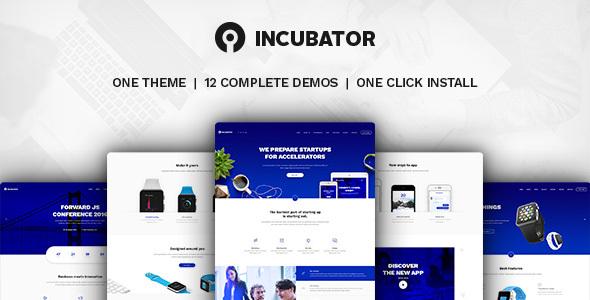 Incubator v1.9.2 - WordPress Startup Business Theme