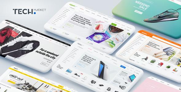 Techmarket v1.3.0 - Multi-demo & Electronics Store WooCommerce Theme