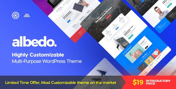 Albedo v1.0.16 - Highly Customizable Multi-Purpose WordPress Theme