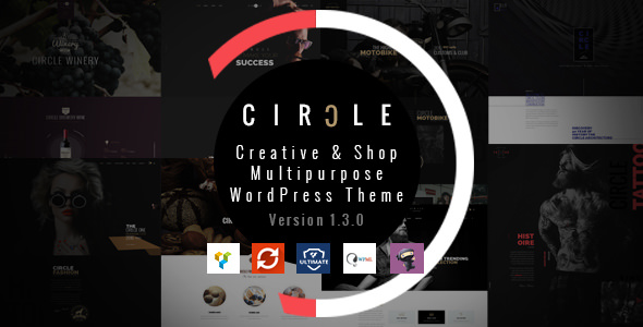 CIRCLE v1.3.3 - Creative Shop Multipurpose WordPress Theme