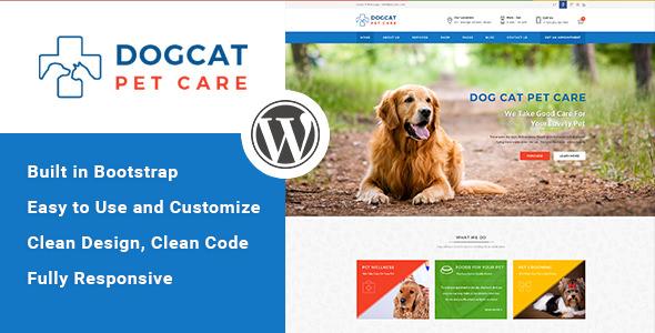 Pet Care v1.3 - Veterinary WordPress Theme
