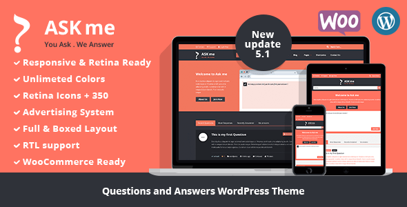Ask Me v5.1 - Responsive Questions & Answers WordPress