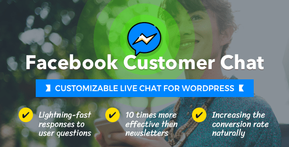 Facebook Customer Chat v1.1.1 - Customizable Live Chat for WordPress
