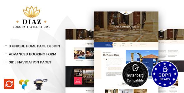 Hotel Diaz v1.3 - Hotel Booking Theme