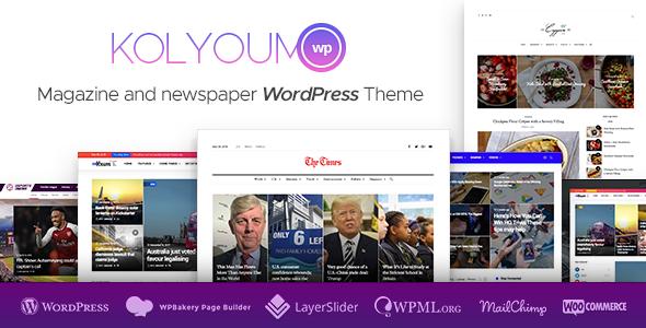 Kolyoum News v1.2.1 - Newspaper Magazine News