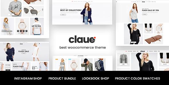 Claue v1.5.4 - Clean, Minimal WooCommerce Theme