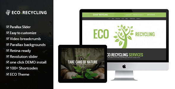 Eco Recycling v2.0.1 - a Multipurpose Woocommerce Theme