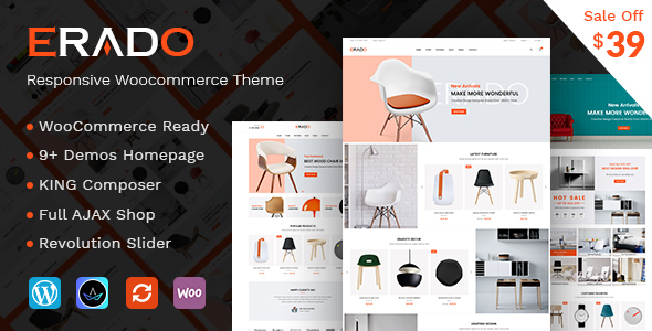 Erado v1.1 - eCommerce WordPress Theme