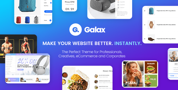 Galax v1.0 - Creative eCommerce Multi-Purpose Theme