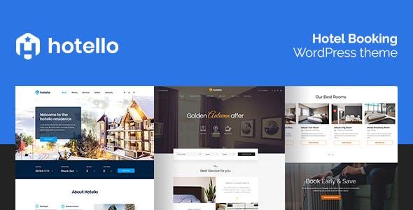 Hotello v1.2.3 - Hotel Booking WordPress theme