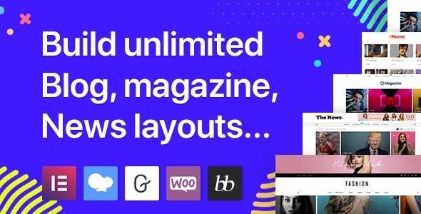 Blogit v1.2.0 - Blog & Magazine WordPress Theme