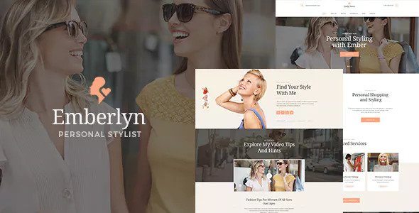 Emberlyn v1.1 - Personal Stylist WordPress Theme