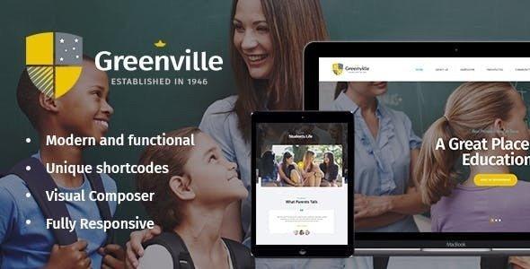 Greenville v1.3.0 - A Private School WordPress Theme