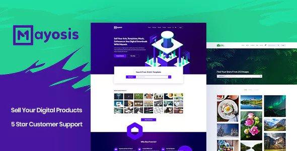 Mayosis v2.5.2 - Digital Marketplace WordPress Theme