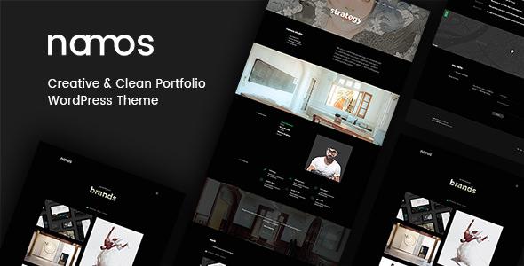 Namos v1.2.0 - Creative One/Multi-Page Portfolio Theme