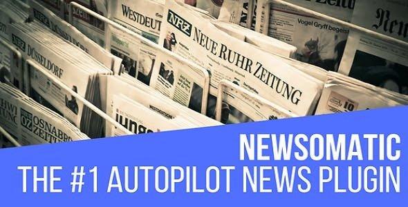 Newsomatic v2.3.6.1 - Automatic News Post Generator