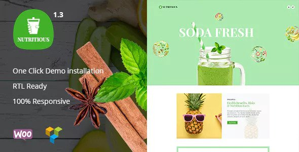 Nutritious v1.3 - Organic food Drink WooCommerce Theme