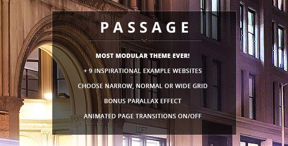 Passage v2.0.0 - Responsive Retina Multi-Purpose Theme