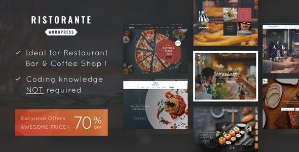 Ristorante v1.0 - Restaurant WordPress Theme