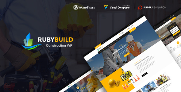 RubyBuild v1.5 - Building & Construction WordPress Theme