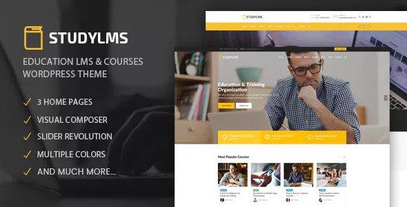 Studylms v1.4 - Education LMS & Courses Theme