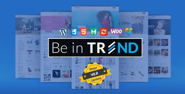 Trend v2.4 - Multipurpose Modern Shop WooCommerce Theme