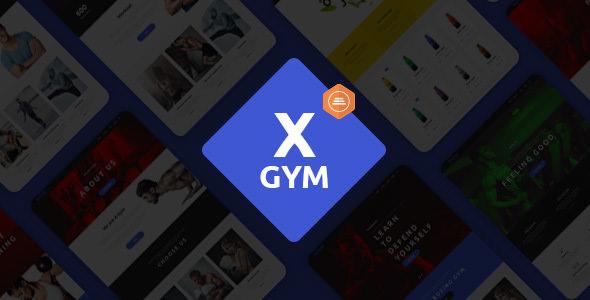 X-Gym v1.1.1 - Fitness WordPress Theme for Fitness Clubs