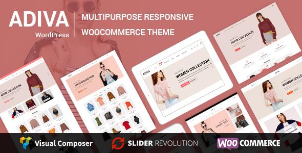 Adiva v1.9 - eCommerce WordPress Theme