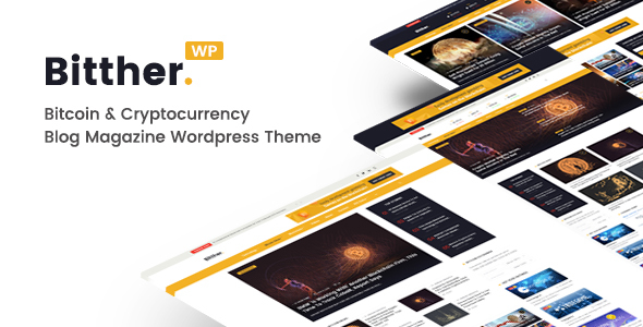 Bitther v2.0.0 - Magazine and Blog WordPress Theme