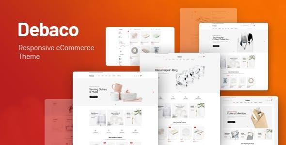 Debaco v1.0 - Kitchen appliances for WooCommerce WordPress