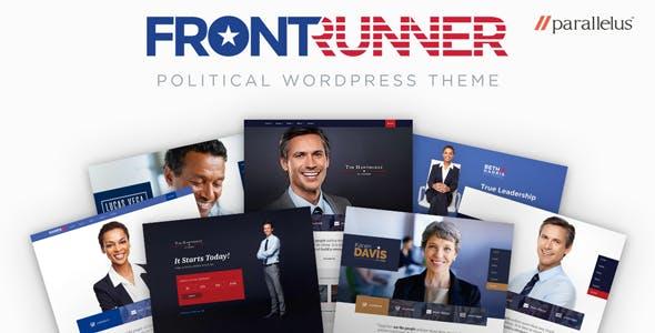 FrontRunner v1.0.23 - Political WordPress Theme