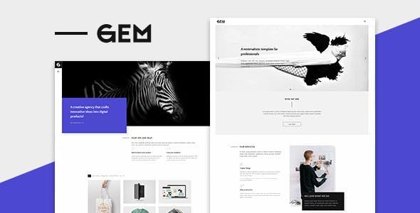 Gems v1.0 - A Multi-Purpose WordPress Theme