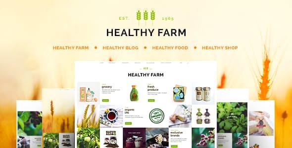 Healthy Farm v2.3 - Food & Agriculture WordPress Theme