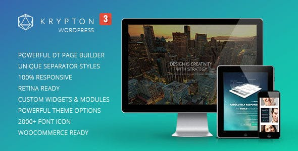 Krypton v3.0.4 - Responsive Multipurpose Theme