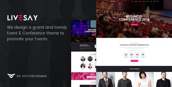 Livesay v1.6 - Event & Conference WordPress Theme